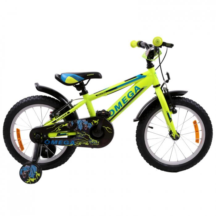 "Bicicleta copii Omega Master 20"" galben [1]"