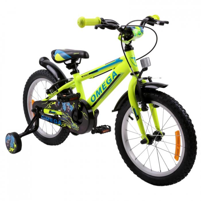 "Bicicleta copii Omega Master 20"" galben [0]"