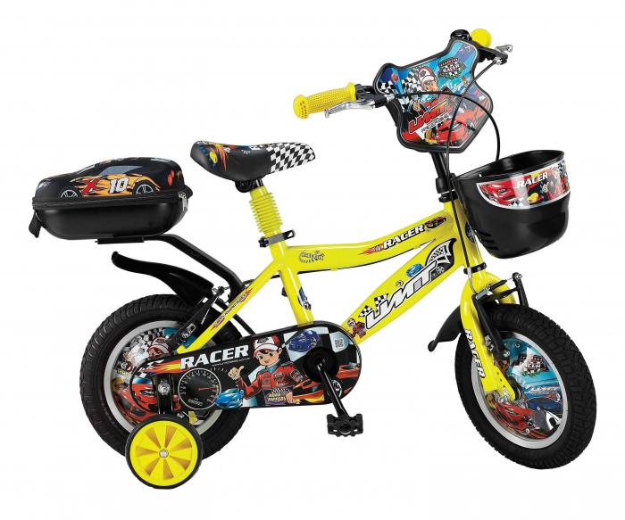 "Bicicleta copii UMIT Racer ,culoare Galben, roata 14"" ,otel [0]"