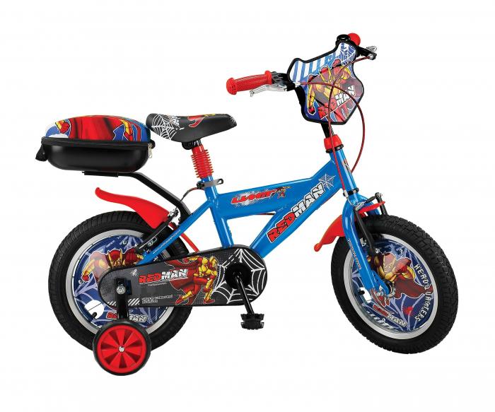 """Bicicleta Copii Umit Redman , Culoare Albastru, Roata 16"""" , Otel [0]"""