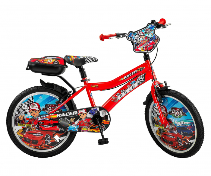 """Bicicleta Copii Umit Redman Culoare Rosu, Roata 12"""" , Cadru Otel [0]"""