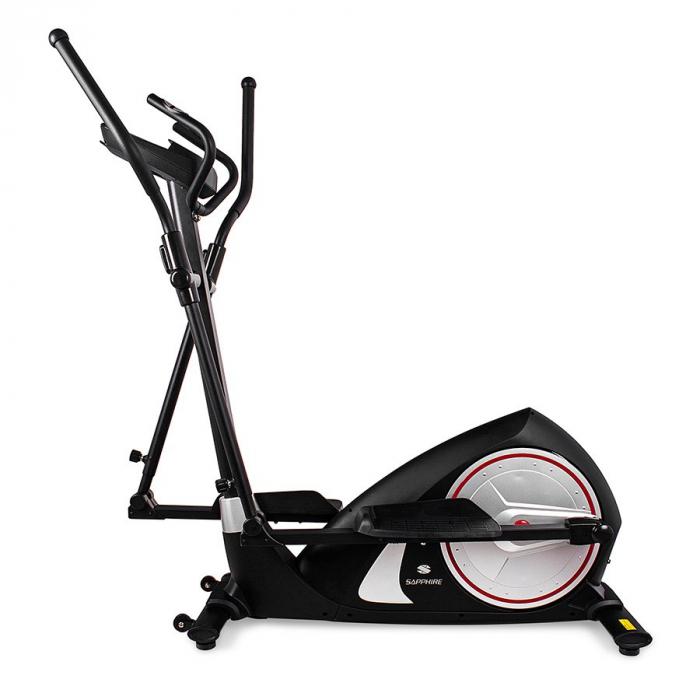 Bicicleta eliptica GALAXY II negru/argintiu [3]