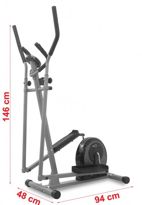 Bicicleta eliptica Hiton Ocelot-gri [4]