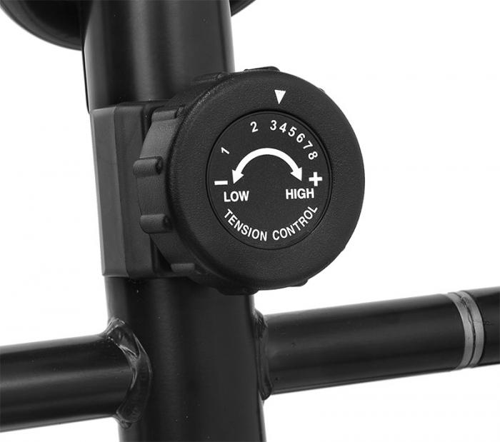 Bicicleta eliptica Hiton Ocelot- negru/galben [6]