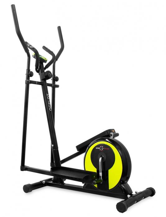 Bicicleta eliptica Hiton Ocelot- negru/galben [0]