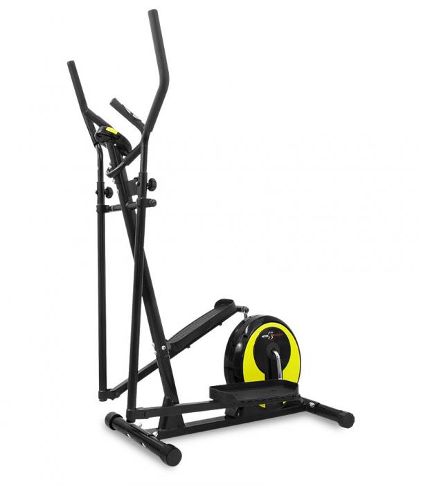 Bicicleta eliptica Hiton Ocelot- negru/galben [1]