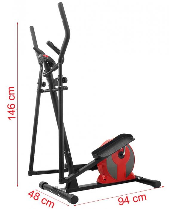 Bicicleta eliptica Hiton Ocelot rosie [1]