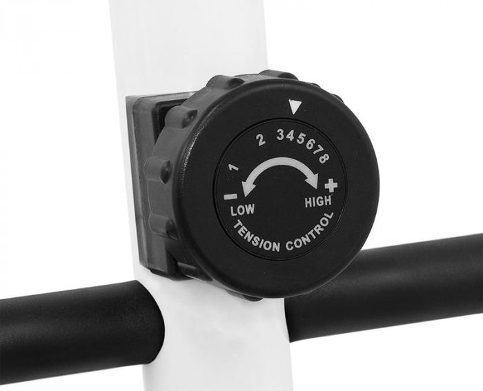 Bicicleta eliptica Hiton Travel-alba [7]