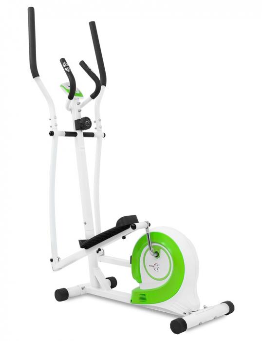 Bicicleta eliptica Hiton Travel-alba [0]