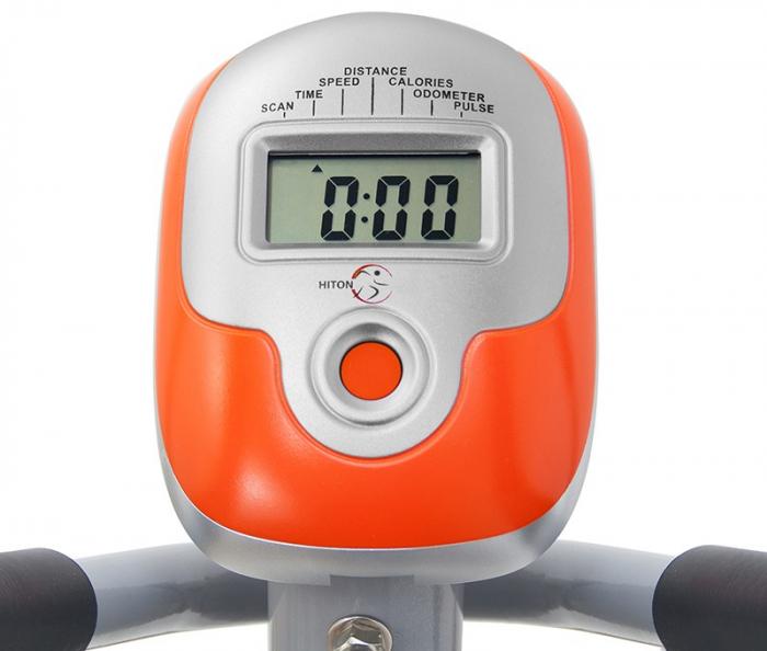 Bicicleta eliptica Hiton Travel-gri [4]