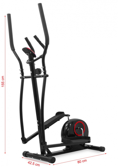 Bicicleta eliptica Hiton Trip-neagra [4]