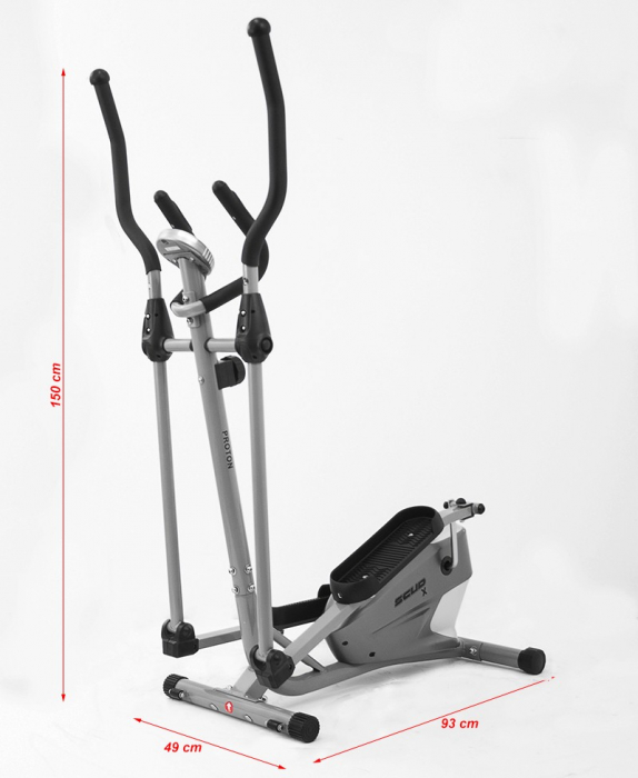 Bicicleta eliptica Scud Proton X [1]