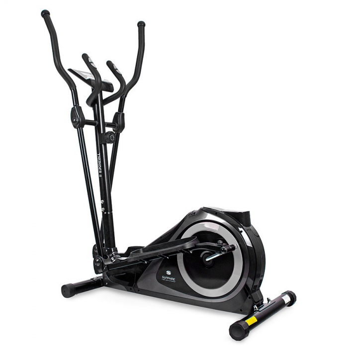 Bicicleta eliptica THUNDER II SG-511E- negru/argintiu [0]