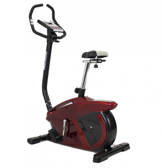 Bicicleta ergometru Hiton Challenger-rosie [0]