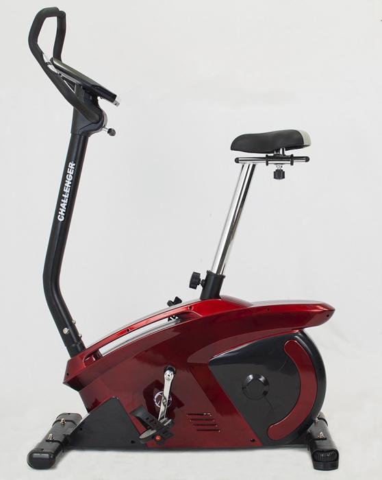 Bicicleta ergometru Hiton Challenger-rosie [1]