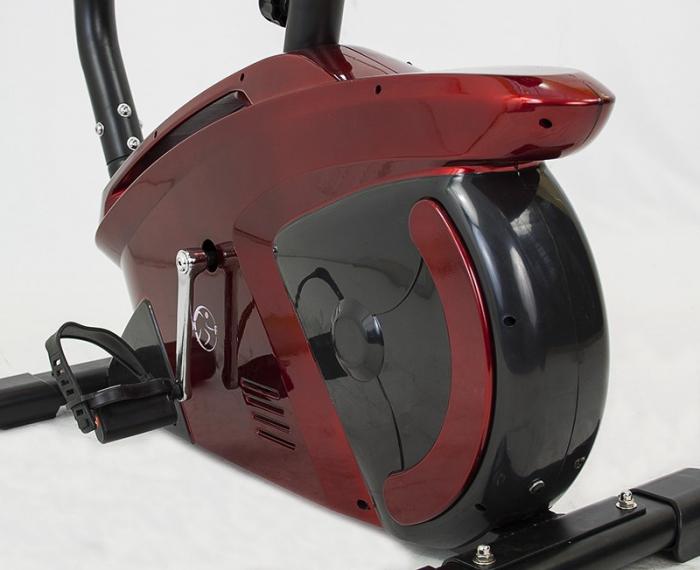 Bicicleta ergometru Hiton Challenger-rosie [2]