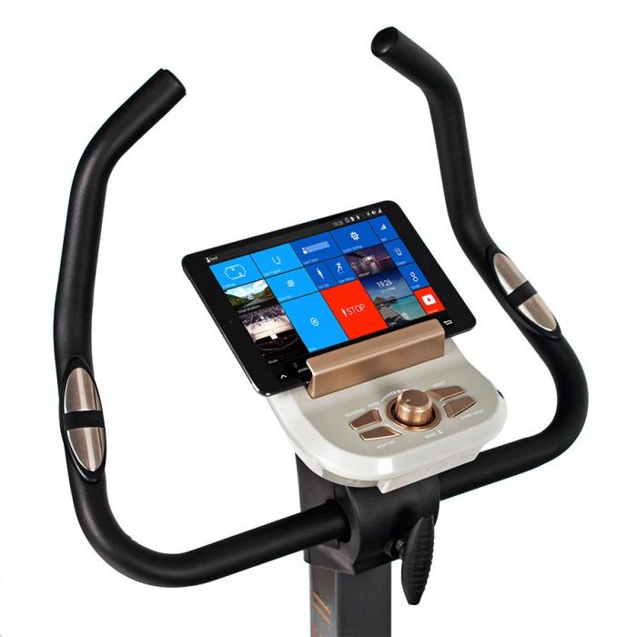 Bicicleta ergometru ULTIMATE II SG 922B- grafit/galben [10]