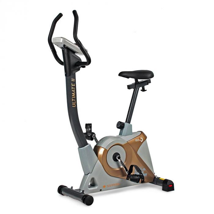 Bicicleta ergometru ULTIMATE II SG 922B- grafit/galben [0]