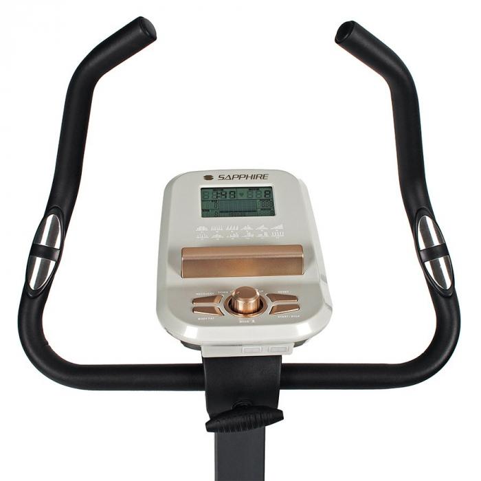 Bicicleta ergometru ULTIMATE II SG 922B- grafit/galben [8]