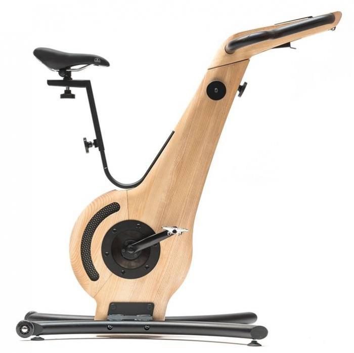 Bicicleta fitness de interior din lemn NOHrD [0]