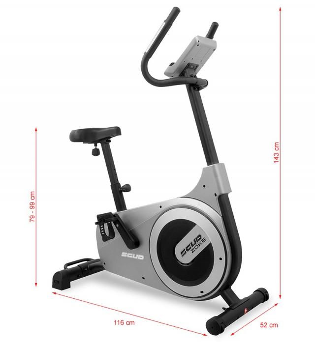 Bicicleta fitness ergometru SCUD C5 Zoke [10]