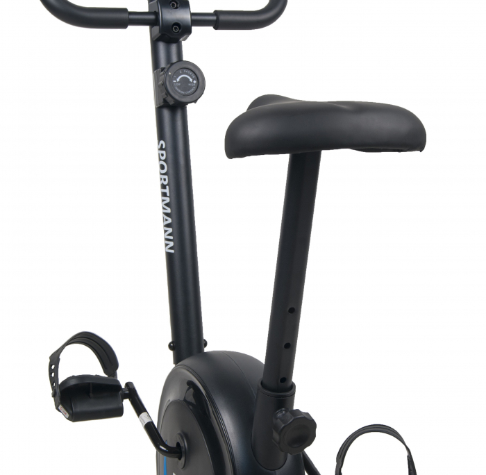 Bicicleta magnetica fitness Sportmann Elinof Negru/Albastru [2]