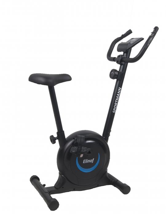 Bicicleta magnetica fitness Sportmann Elinof Negru/Albastru [9]