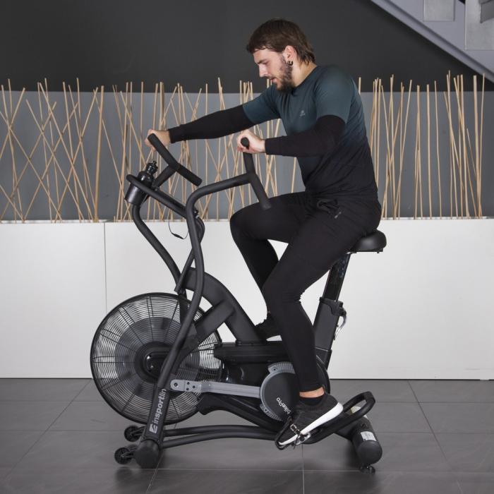Bicicleta Fitness inSPORTline Airbike Pro [4]