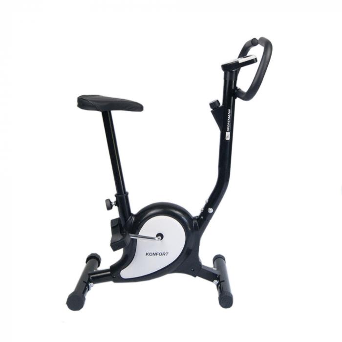 Bicicleta fitness Konfort Sportmann negru [2]