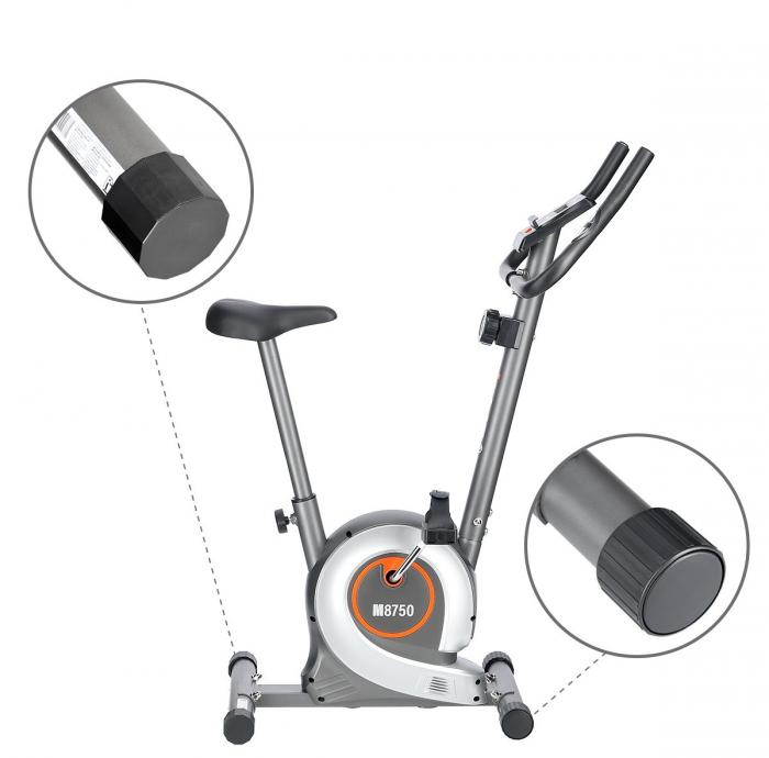Bicicleta fitness magnetica HMS M8750 gri [1]