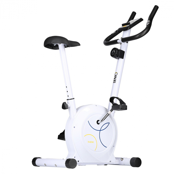 Bicicleta fitness magnetica HMS ONE RM8740 alb [4]