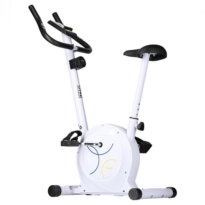 Bicicleta fitness magnetica HMS ONE RM8740 alb [3]