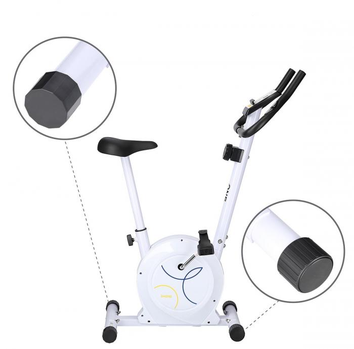 Bicicleta fitness magnetica HMS ONE RM8740 alb [1]