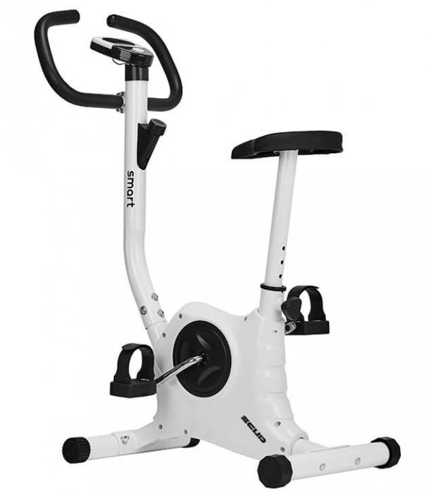 Bicicleta Fitness SCUD SMART - Alb [0]