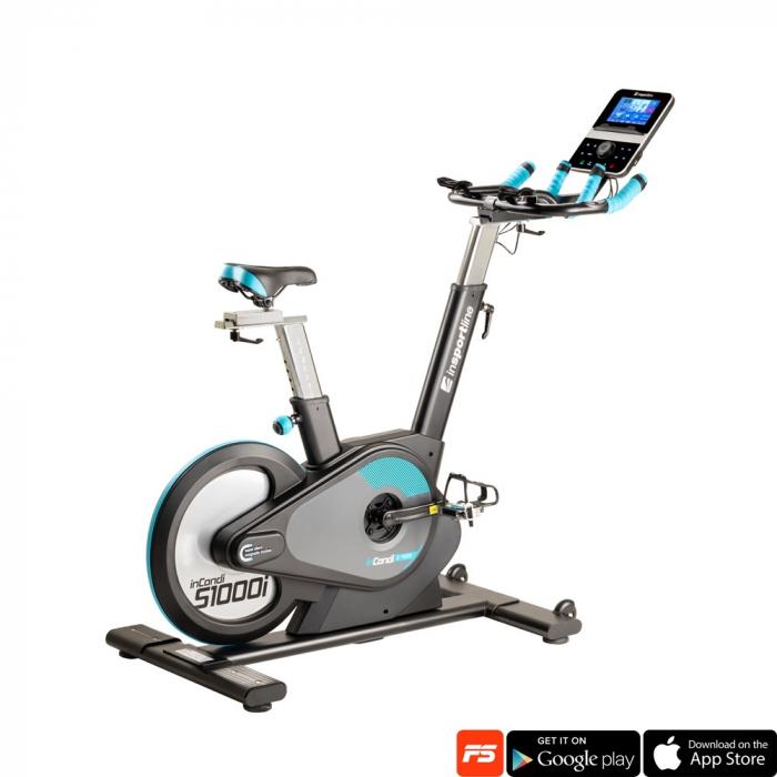 Bicicleta fitness indoor cycling inSPORTline inCondi S1000i [0]