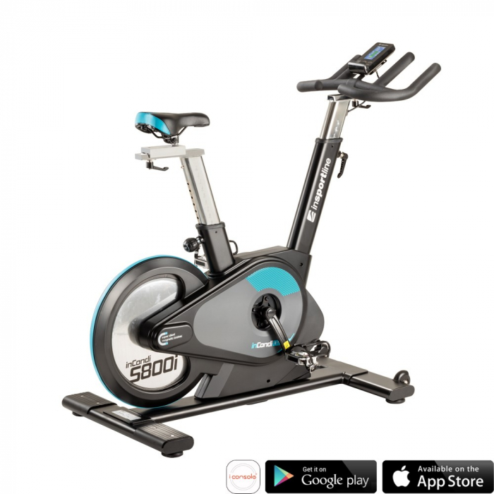 Bicicleta fitness indoor cycling inSPORTline inCondi S800i [0]