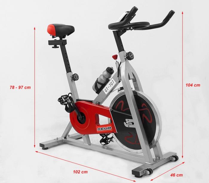 Bicicleta indoor cycling Scud 707 [2]
