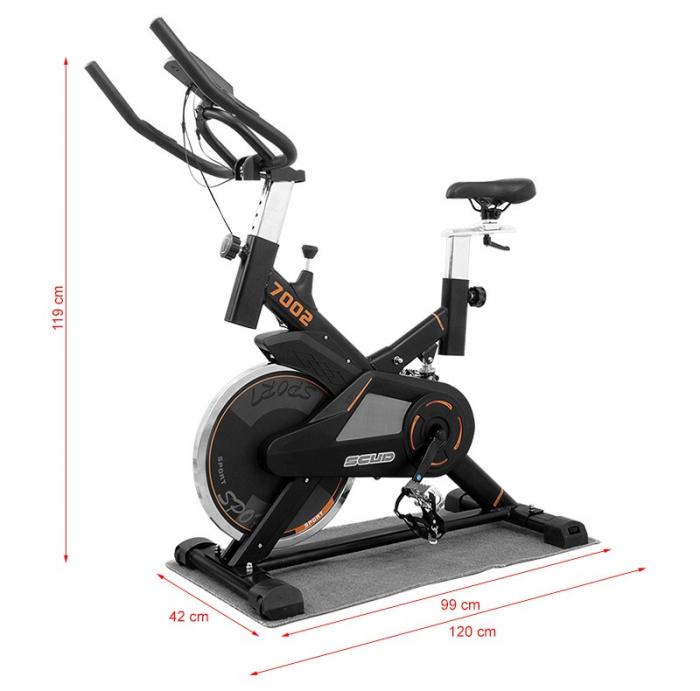 Bicicleta indoor cycling Scud GT-7002 [3]
