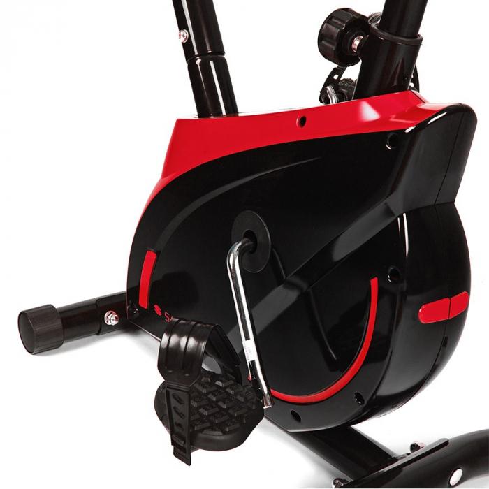 Bicicleta magnetica EXIS SG-300B- negru/rosu [5]