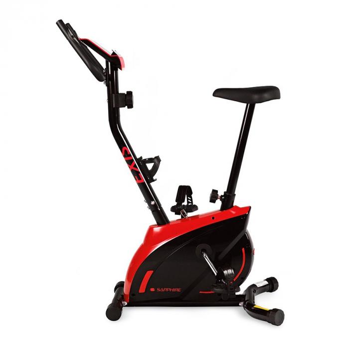 Bicicleta magnetica EXIS SG-300B- negru/rosu [1]