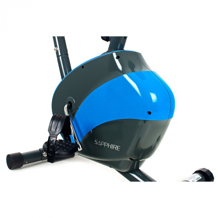 Bicicleta magnetica FALCON SG-911B grafit/albastru [3]