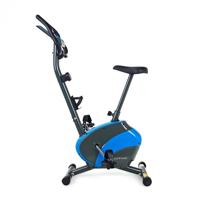 Bicicleta magnetica FALCON SG-911B grafit/albastru [1]