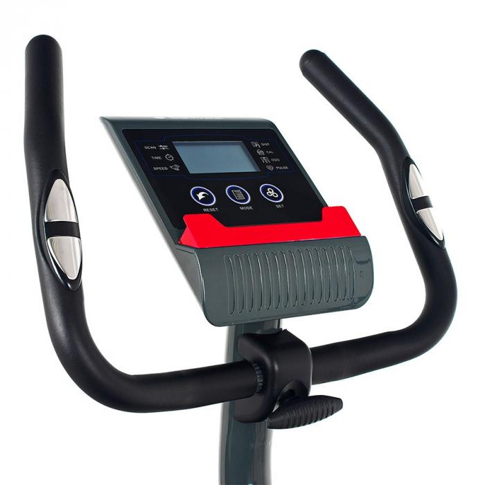 Bicicleta magnetica FALCON SG-911B grafit/rosu [6]