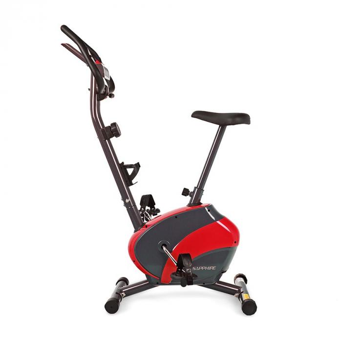 Bicicleta magnetica FALCON SG-911B grafit/rosu [1]