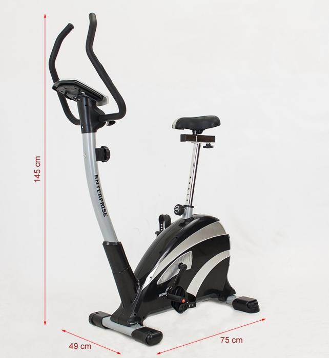 Bicicleta magnetica Hiton Enterprise-neagra [2]
