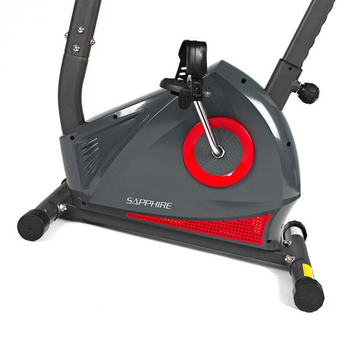 Bicicleta magnetica QUADRO SG-450B rosu [3]