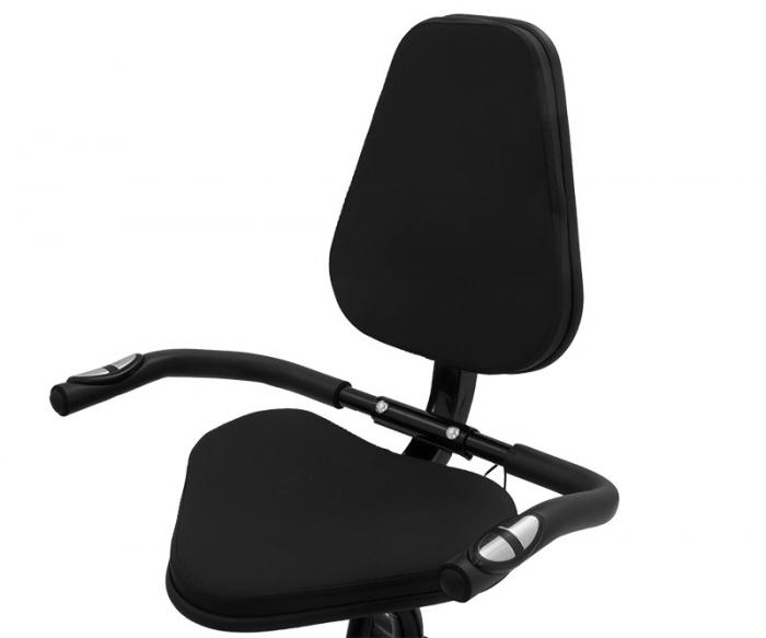 Bicicleta magnetica recumbent Scud Swift H4-galbena [7]