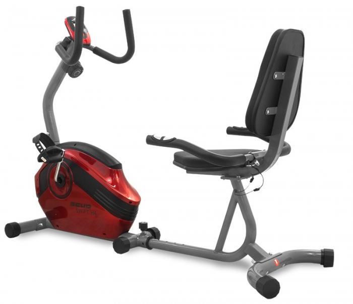 Bicicleta magnetica recumbent Scud Swift H4-rosie [0]