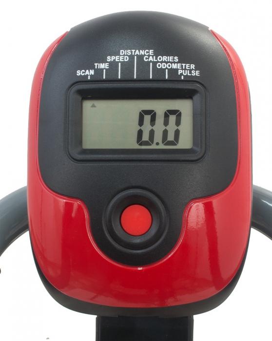 Bicicleta magnetica recumbent Scud Swift H4-rosie [4]