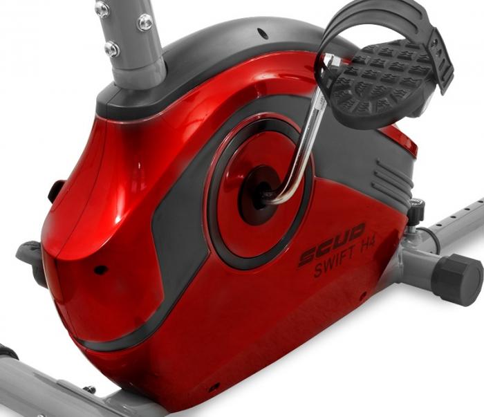 Bicicleta magnetica recumbent Scud Swift H4-rosie [3]